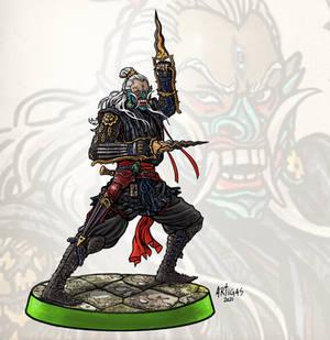 Dark Elf Shadow Warrior