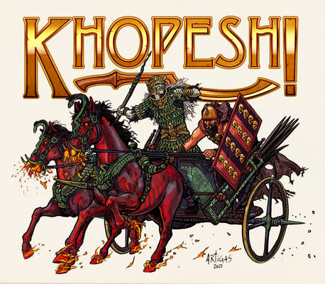 Khopesh Game Bad guys Chariot