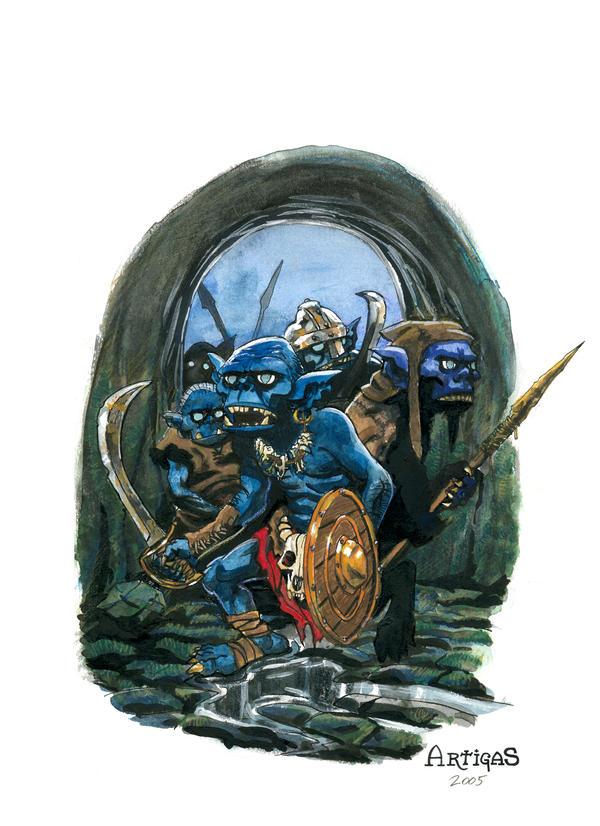 The Vicious Goblins by Artigas
