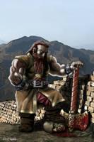 Beldrin, the orcslayer by Artigas