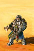 Dain Ironfoot by Artigas