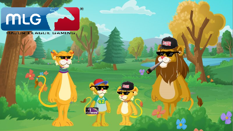 Mlg Between The Lions By Alc Fan90s On Deviantart