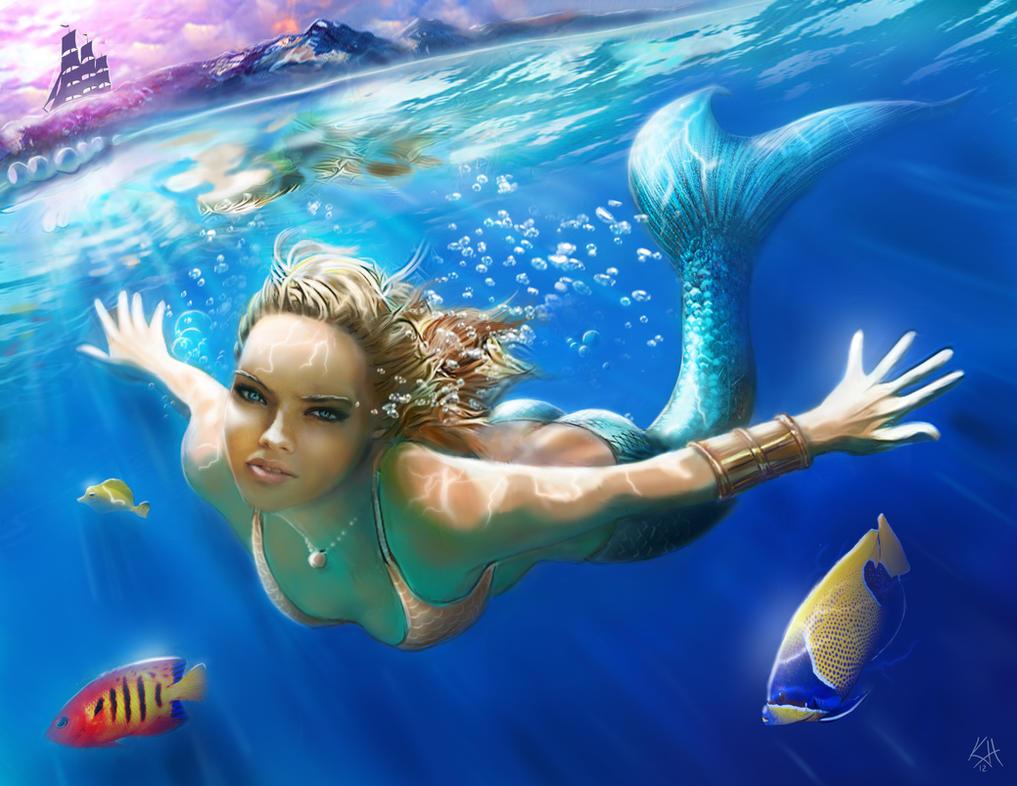 Mermaid by kjh311