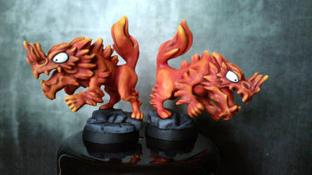 Firehounds by Reallybigfish
