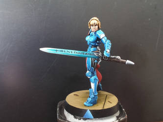 Infinity Miniatures - Joan of Arc