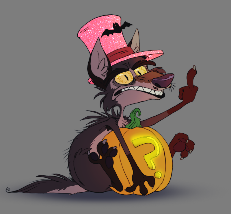 Halloweenie by Zerda-Fox
