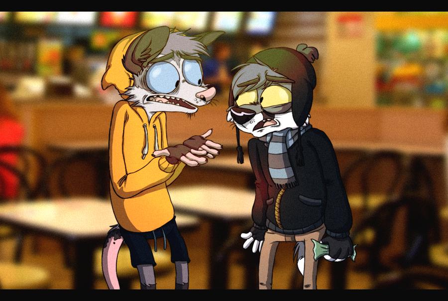 Friday night problems by Zerda-Fox