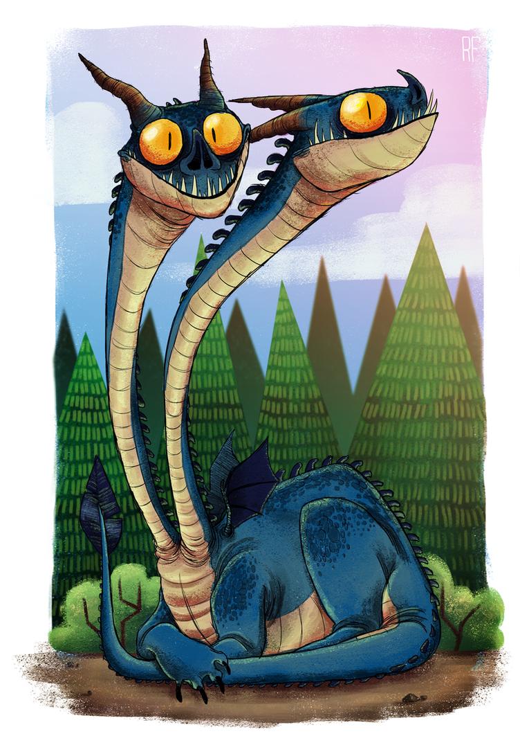 Dragonz by Zerda-Fox
