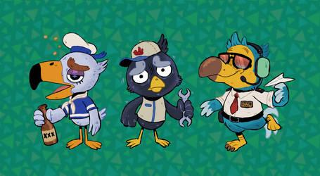 Animal Crossing: Birds