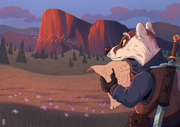 Badger adventure