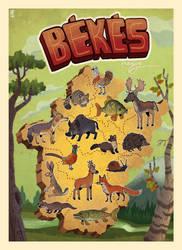 Fauna of Bekes county