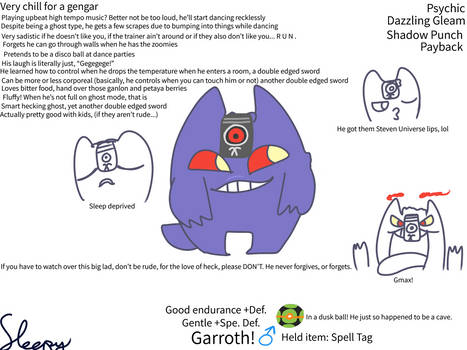 It is Garroth