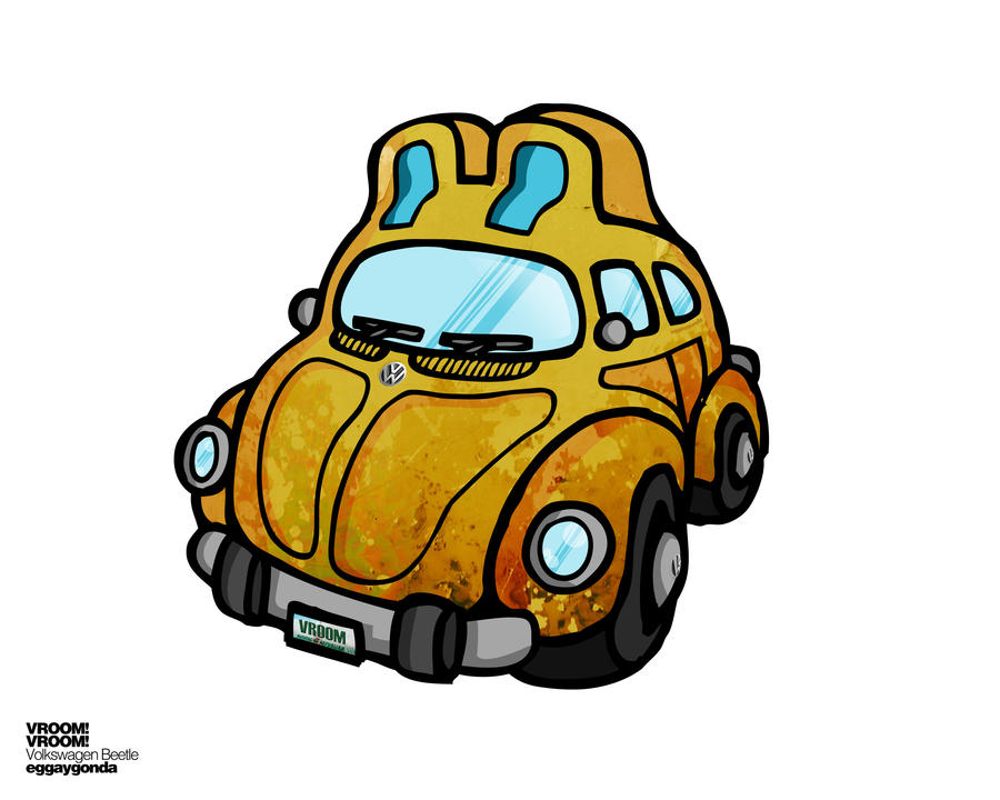 Vroom Vroom Beetle by eggay
