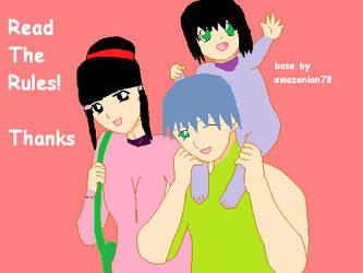 Davey, Fuko and baby Dana