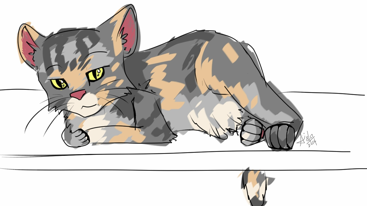 Daily sketch 001: Chibi by San-sen
