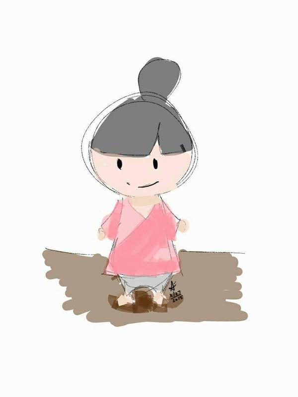 -15 min sketch #001 by San-sen