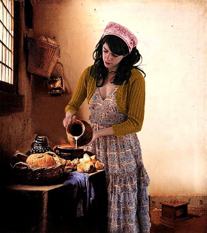 Josefina la lechera xd by violetametalico on deviantart - La lechera de vermeer ...
