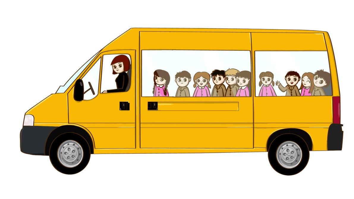Transporte Escolar By Violetametalico On Deviantart