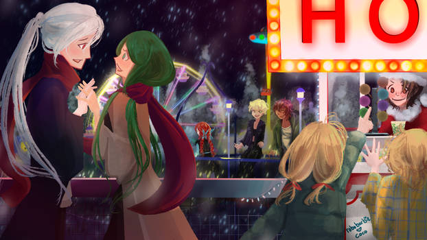 Fatamoru Christmas - Amusement Park!