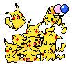 Pikachu pile