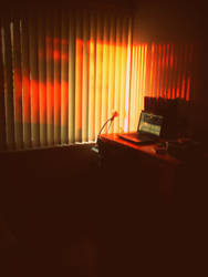 Workplace+Studyplace at Sunset by DNA-Photographe