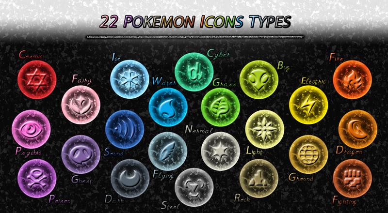 All Symbols Energy Type By Maskadra42 On Deviantart