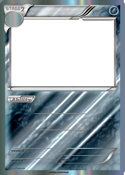 Stage 2 Flying - Blank Card Holo by Maskadra42