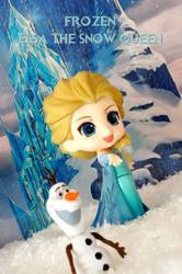 Frozen - Elsa the snow queen - Nendoroid by Ran91