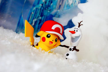 Olaf like warm hugs by Ran91