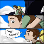 Hiccup's Thoughts While Riding