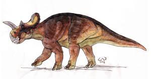 Sketchy Centrosaurus