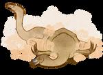 Nothronychus Dust Bathing