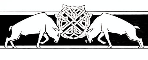 Celtic Stags