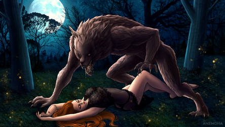 The Ginger and the Werewolf SFW by HeyAnemona