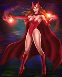Wanda Maximoff - Scarlet Witch by HeyAnemona