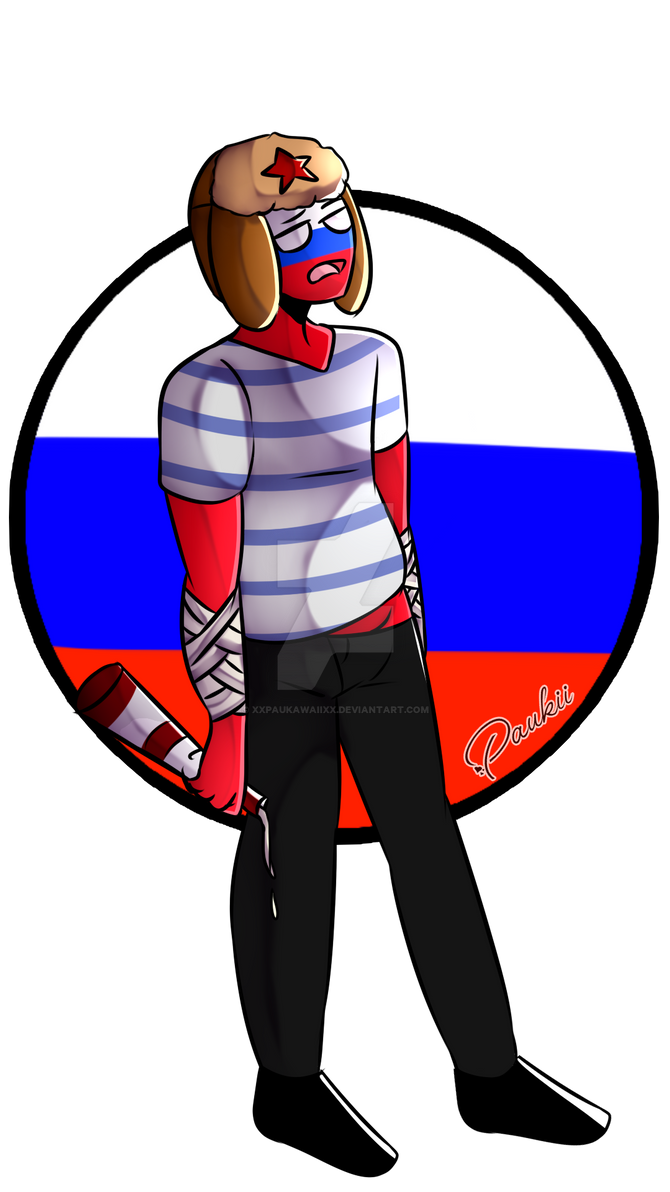 countryhumans russia by XxPaukawaiixX on DeviantArt