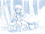 Gnome fighter sketch