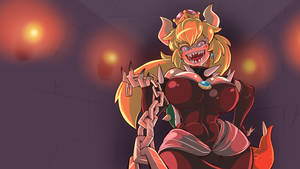 Bowsette/Peacher/Princess Koopa Desktop wallpaper! by BrachyArtz