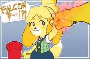 FALCON! PU--?!?!