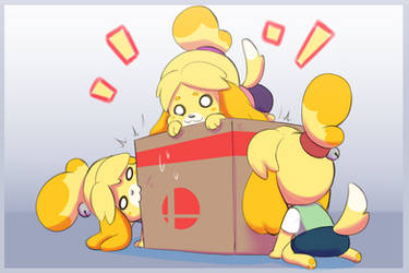Isabelles want the box by BrachyArtz