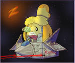 Do a barrel roll, Isabelle
