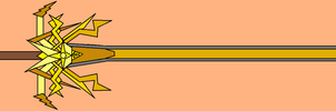 Raiha, The Sword of Lightning (Redesign)