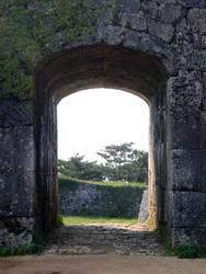 Castle Doorway 1 by EE-Stock