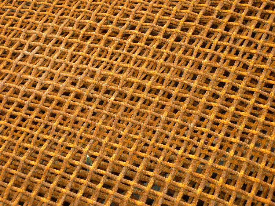 Unrestricted Texture - Rusty Mesh 1 by shelldevil