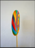 Unrestricted Object Stock - Rainbow Lollypop 04 by shelldevil