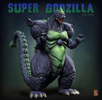 Super Godzilla SNES Japanese Version