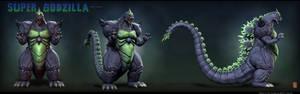 Super Godzilla Turnaround