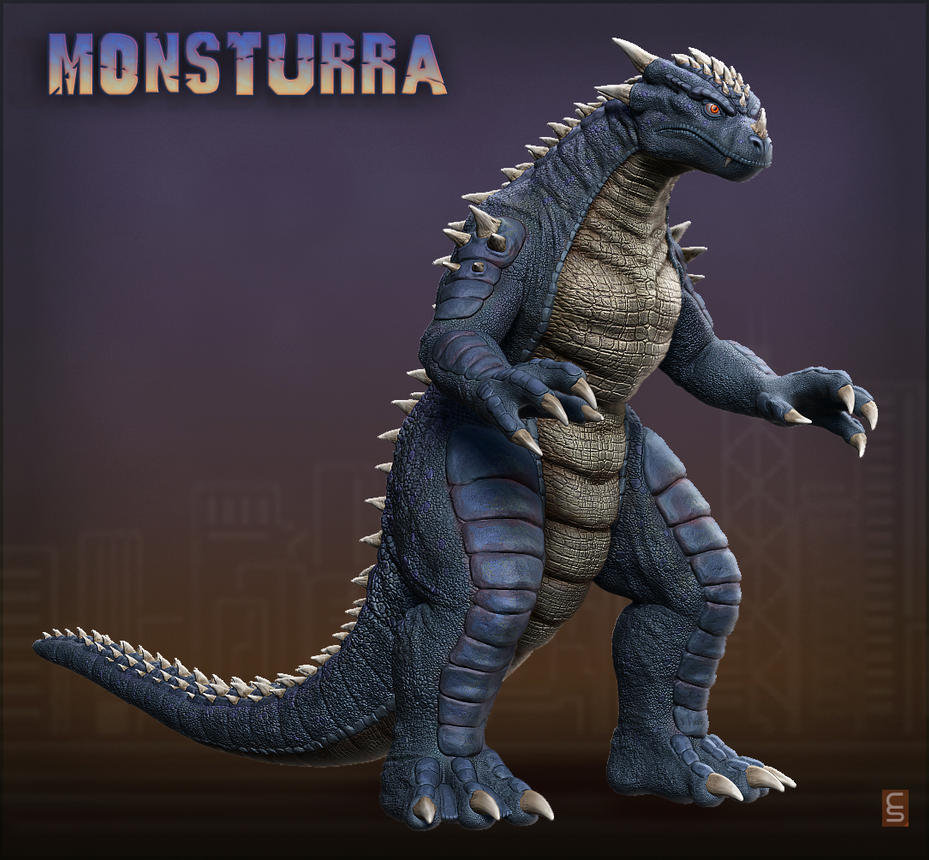 Monsturra by Digiwip