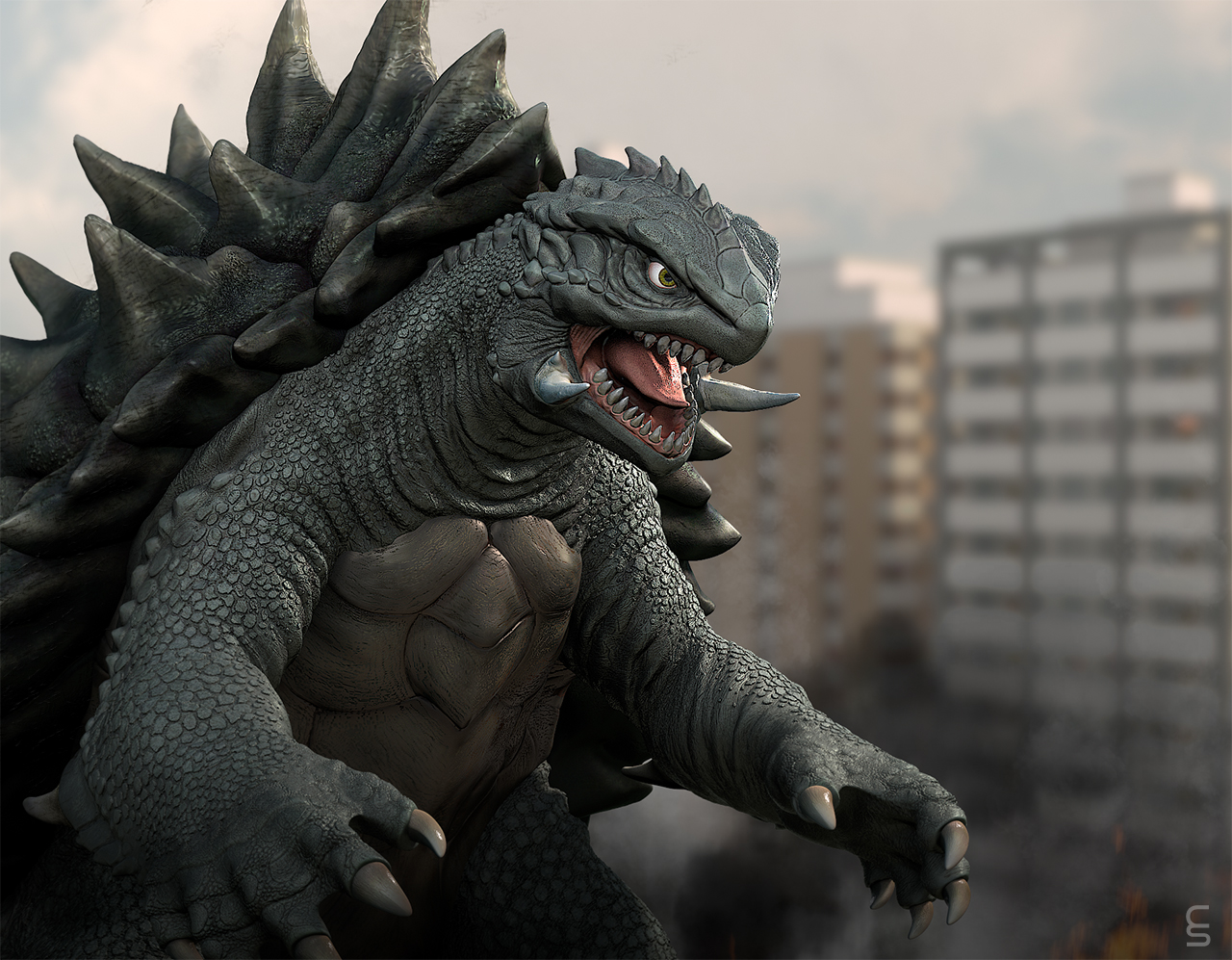 Gamera by Digiwip on DeviantArt