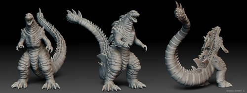 Godzilla Legacy All Angles by Digiwip